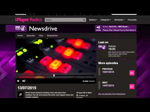 Grant Harrold chats to BBC Radio Scotlands Newsdrive