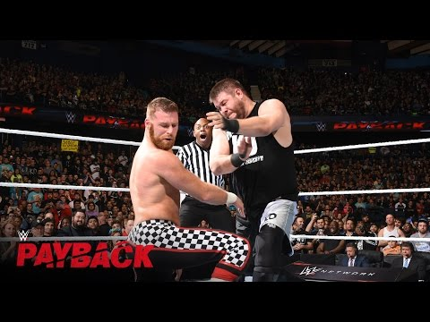 Sami Zayn vs. Kevin Owens: WWE Payback 2016 on WWE Network