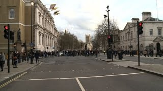Saksi serangan di London