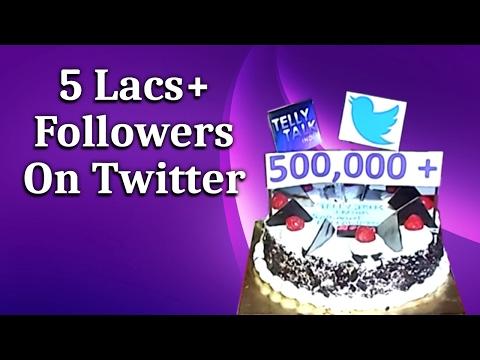 TellyTalkIndia Celebrates 5 Lacs+ Followers On Twitter