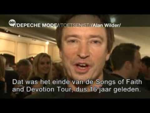 De Rode Loper- Belgian news report on Alan @ depeche RAH gig