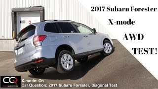 AWD Test: 2017 Subaru Forester Diagonal and OffRoad / THE Most Complete review!