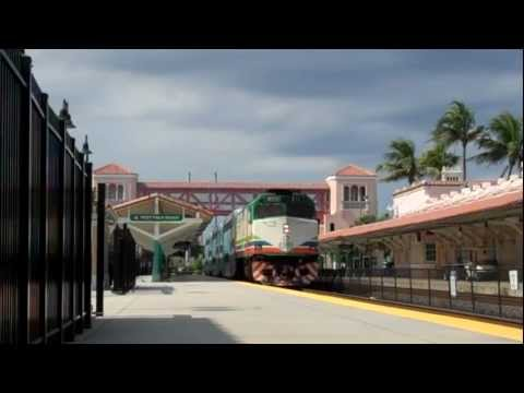 Tri-Rail P635: West Palm Beach Station 08/04/2011