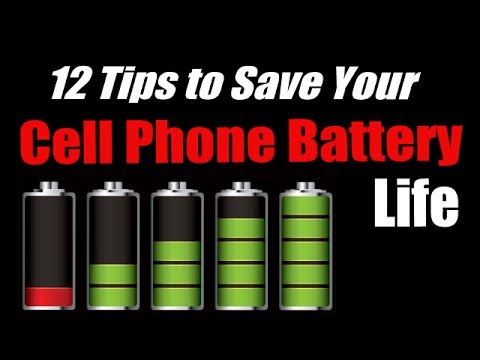 12 Tips to Improve Your Cell Phone Battery Life - iPhone or Android