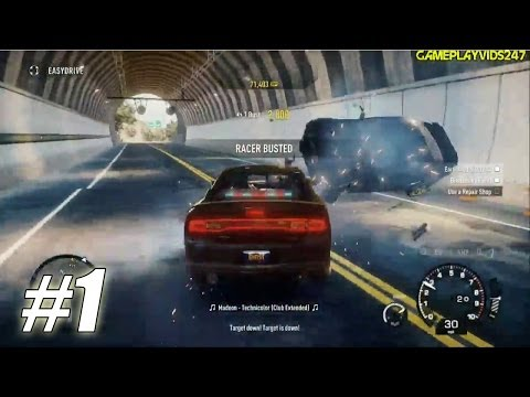 Need For Speed: Rivals Undercover Police Playthrough: Part 1 - (Gameplay Walkthrough W/Commentary)