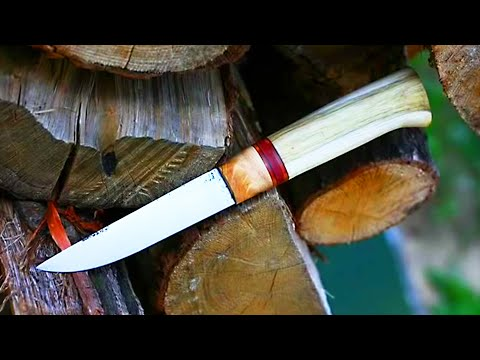 knifemaking - making a knife for ma trip to Bieszczady