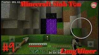 Minecraft Pe Sinh Tồn #9: Đến Thiên Đường Bằng Địa Ngục