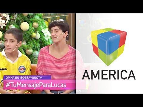 "Lucas Cesio: ""Mi mamá es mi superhéroe"""
