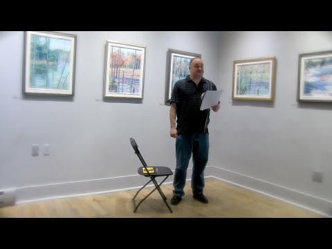 Pat Connors @ A Poetry Salon
