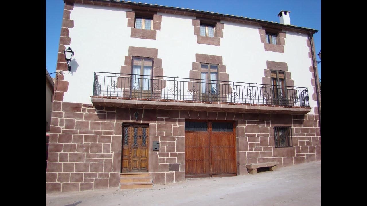Fachadas decoracion rustica piedra reproducida en la - Decoracion de casas rusticas sencillas ...