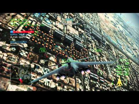 Ace Combat Infinity - Dubai Night Assault HARD with B-1B