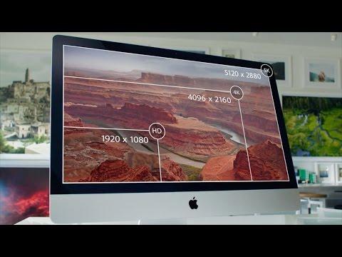 Презентация iMac Retina 5K на русском