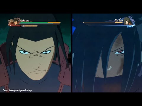 media video naruto madara vs five kage