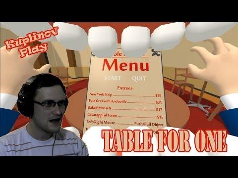 Table For One Прохождение ► Сожрать всё! ► ВЫНОС МОЗГА