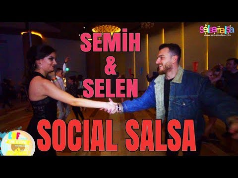 Social Dance Salsa | Selen - Semih | EDF-2018
