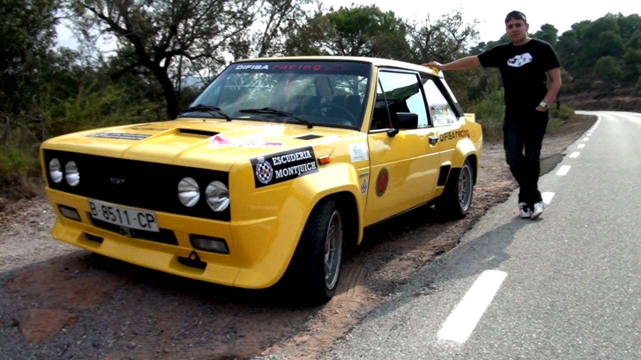 Fiat 131 Abarth Rally La Prueba Cl 225 Sica Youtube