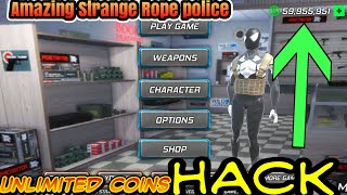 Amazing Strange Rope Police Hacked apk Unlimited Coins nodded apk by all games hacking point
