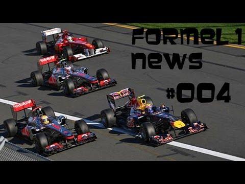 Formel 1 News #004 Saison 2013 1. Rennen/Australien/Melbourne Analyse 1. & 2. Training + Tippspiel