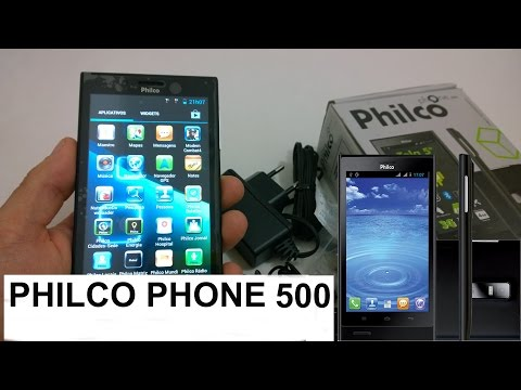 Philco Phone 500 o que vem na caixa (Unboxing BRASIL)