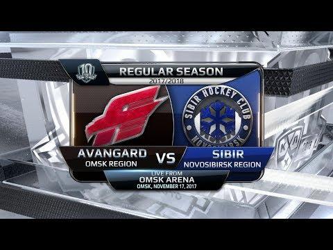 Sibir 0 Avangard 1, 17 November 2017 Highlights