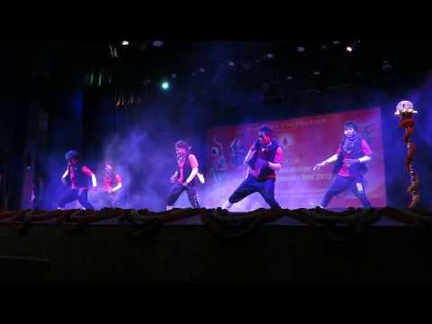 Slum Boys' stage performance at Bhubaneswar