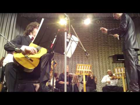 Antoine de Lhoyer. Concerto for guitar and string orchestra op.16, III mv-t (originally II) Rondo.