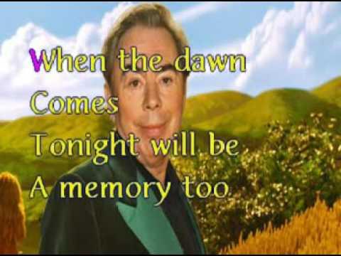 Andrew Lloyd Webber   Memory