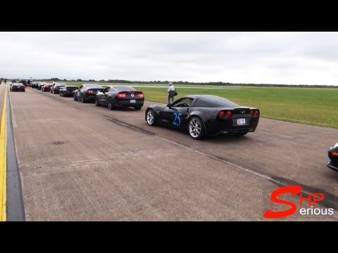 Houston Mile 2012 See how fast your car goes - Aeros & Autos event at