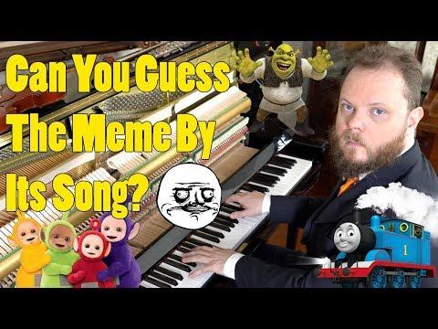 Can you Guess the Meme by its song? Vídeos de zueiras e brincadeiras: zuera, video clips, brincadeiras, pegadinhas, lançamentos, vídeos, sustos