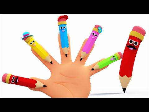 pencil finger family thumbnail