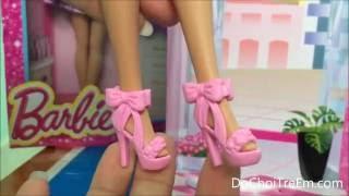 Búp bê Barbie và bộ sưu tập giày dép túi xách, Đồ chơi trẻ em (Chim Xinh)
