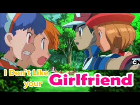 Miette/Misty vs Serena //Girlfriend (Amourshipping vs Poffin/Pokeshipping)
