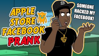 Apple Store Facebook Prank