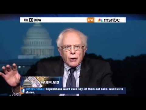 Sen. Sanders on the Farm Bill
