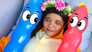 Learn and Play with Balloons Finger Family Song for Kids