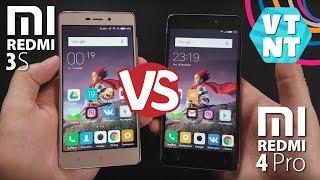 Что купить Xiaomi Redmi 4 Pro или Xiaomi Redmi 3S?