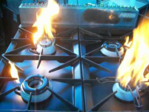 Cucina 8 fuochi zanussi usata