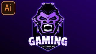 FREE Esports Gaming Logo #1 | Clan/Esport/Mascot | Adobe Illustrator Free Logo Templates