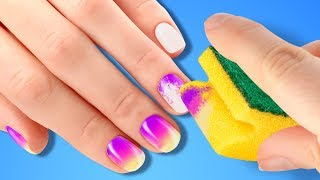 25 BRIGHT NAIL HACKS FOR EVERY GIRL