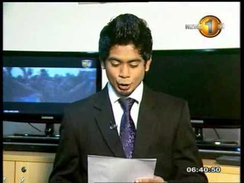 Sirasa Tv - Sirasa Breakfast news 29.05.2013 -6.30 am