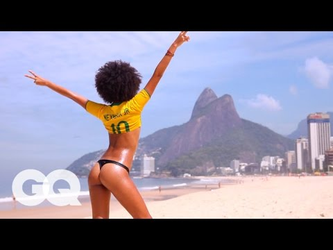 The Girls of Rio -- GQ Women -- World Cup 2014