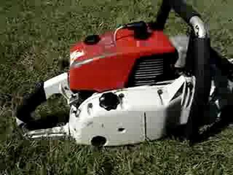 Power Drill Used To Drive An Ice Auger