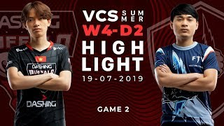 DBL vs FTV_HighLights [VCS Mùa Hè 2019][19.07.2019][Ván 2]