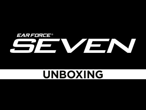 Turtle Beach Ear Force XP SEVEN Unboxing