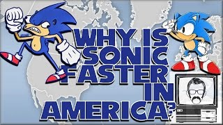 Why is Sonic Faster in America? NTSC vs PAL/60Hz vs 50Hz | Nostalgia Nerd
