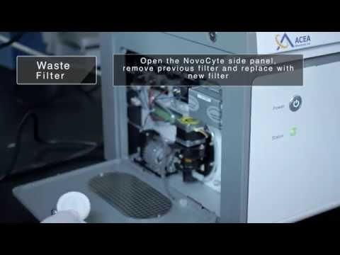 ACEA NovoCyte Flow Cytometer - Maintenance Overview