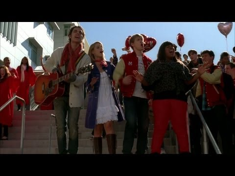 GLEE - Stereo Hearts (Full Performance) (Official Music Video...