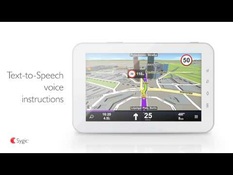 Sygic Truck GPS Navigation APK Cover