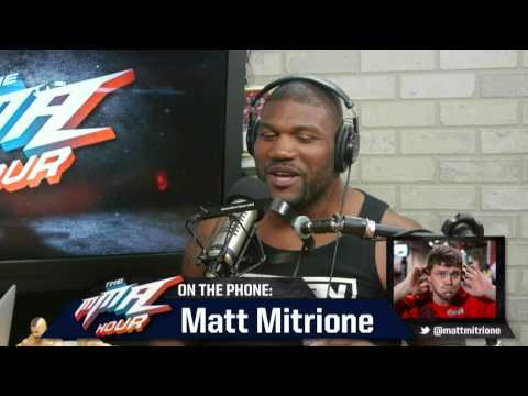 Rampage Jackson to Matt Mitrione: '[Expletive] You'