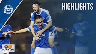 HIGHLIGHTS | Peterborough United vs Chesterfield